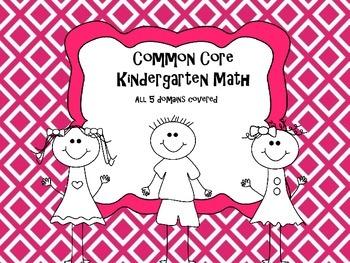 Comprehensive Common Core Kindergarten Math