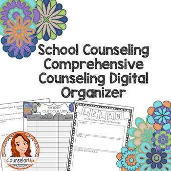 Comprehensive Counseling Plan Digital Organizer