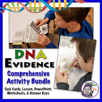 Comprehensive Dna As Evidence Lesson Activities Forensic Science 101