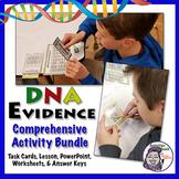 Bundle Middle School Forensics: DNA Fingerprinting & Evidence Activity & Lesson