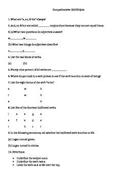 Comprehensive DO/IO quiz