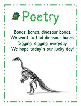 Comprehensive Dinosaur Unit