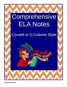 Comprehensive ELA Notes