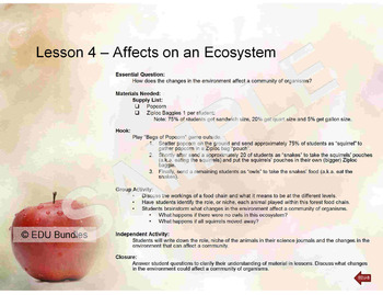 Comprehensive Ecosystems Bundle - Grade 3-5