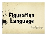 Comprehensive Figurative Language PowerPoint