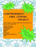 Comprehensive Literary Analysis Project