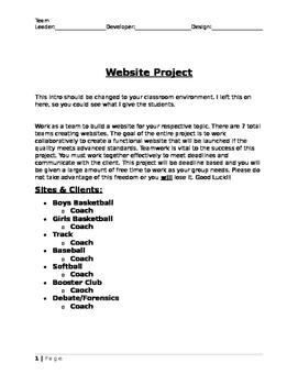 Comprehensive Final Website Project