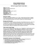Speech Therapy-Expressive & Receptive Language Report Bundle