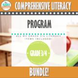 Comprehensive Literacy | GRADE 3/4 BUNDLE | Ontario Curriculum