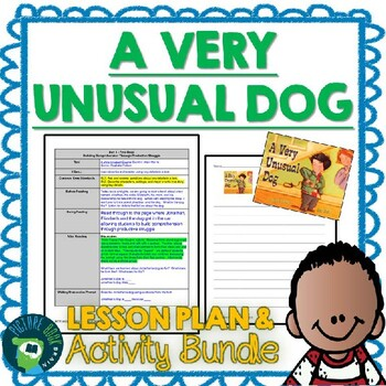 A Very Unusual Dog 4-5 Day Lesson Plan