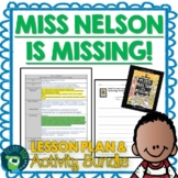 Miss Nelson is Missing by Harry Allard Lesson Plan and Activities