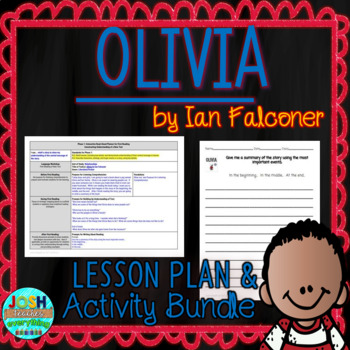 Olivia by Ian Falconer 4-5 Day Lesson Plan