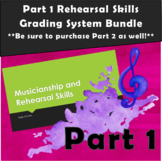 Comprehensive Rehearsal Skills Grading System Bundle (Part 1 - Intro+Printables)