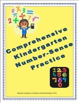 Number Sense Practice - math homework helper or centers work