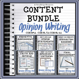 Comprehensive Opinion Writing Unit-Grades 4, 5, 6