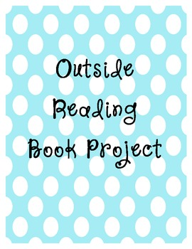Comprehensive Outside Reading Book Project - Rubric Included!