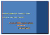 Comprehensive Physics: Heat energy and Gas theory Questions and Solutions