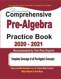 Comprehensive Pre-Algebra Practice Book 2020 - 2021