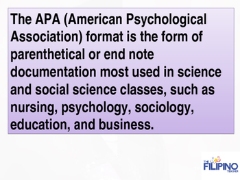 Comprehensive Presentation on APA Style of Referencing