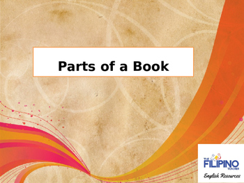 Comprehensive Presentation on Parts of a Book