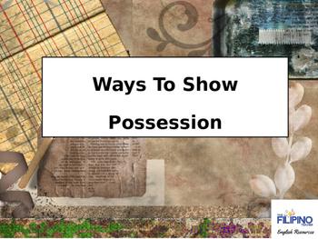 Comprehensive Presentation on Ways to show Possession