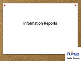 Comprehensive Presentation on writing Information Reports