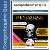 Comprehensive Quiz: Phineas Gage by John Fleischman (Print + DIGITAL)