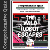 Comprehensive Quiz for The Wild Robot Escapes (includes Google Forms option)