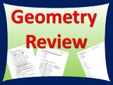 Comprehensive Review for Geometry Final Exam