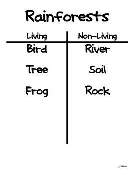 Comprehensive Science Unit: 1st Grade: Life Science
