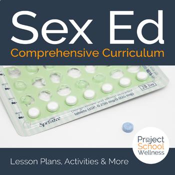 Comprehensive Sex Ed and Sexual Health Unit Plans - - Health Lesson Plans