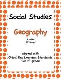 Comprehensive Social Studies Unit: 1st Grade: Geography