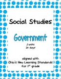 Comprehensive Social Studies Unit: 1st Grade: Government