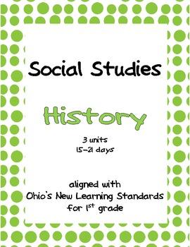 Comprehensive Social Studies Unit: 1st Grade: History