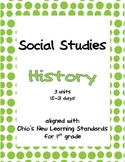 Comprehensive Social Studies Unit: 1st Grade: History