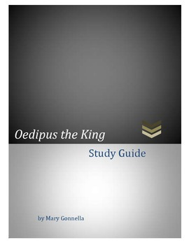 Oedipus the King Comprehensive Study Guide with Questions and Quotations