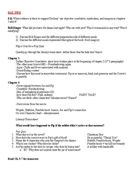 Great Expectations Unit Plan