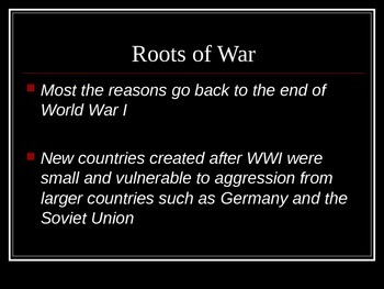 Comprehensive World War II PowerPoint Notes and Interactive Presentation