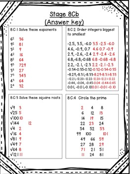 Number Sense - Grades K-7 - Basic Facts, Number Knowledge, and Place Value