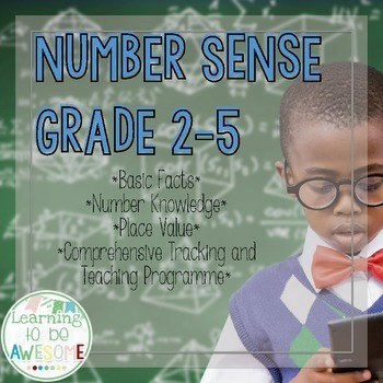 Number Sense - Grades 2-5 - Basic Facts, Number Knowledge,