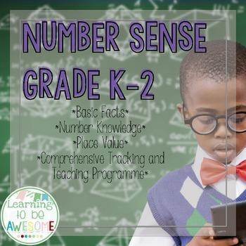 Number Sense - Grades K-2 - Basic Facts, Number Knowledge,