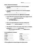Comprehensive tú command quiz