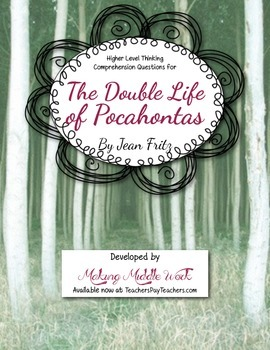 Comprehsnsion Questions for ' The Double Life of Pocahonta