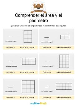Comprender el área y el perímetro 2 -¿Cuántas unid. de long. mide el perímetro?