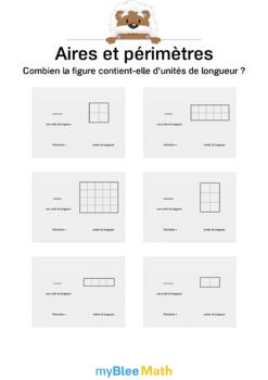 Comprendre l'aire et le périmètre 2 - Le périmètre en unités de longueurs -CM1