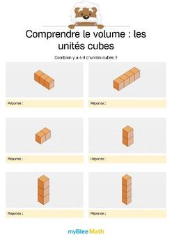 Comprendre le volume 1 -Compter le volume en unités cubes