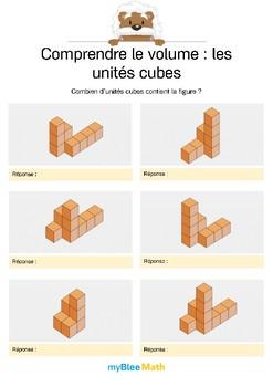 Comprendre le volume 7 -Compter le volume en unités cubes