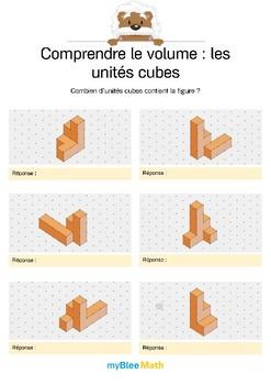 Comprendre le volume 8 -Compter le volume en unités cubes