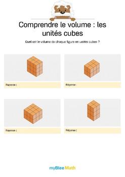 Comprendre le volume 9 -Compter le volume en unités cubes