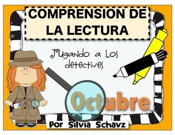 Comprensión de la lectura en español: jugando a los detect